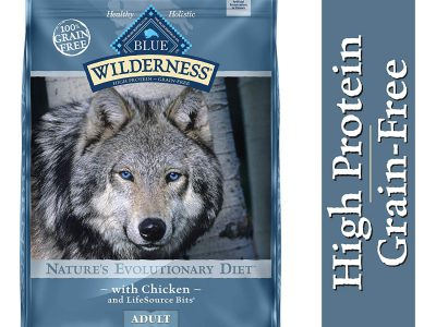 Blue Buffalo Wilderness High Protein Dog Food Reviews